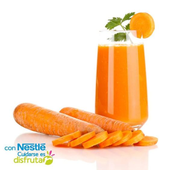 El jugo de zanahoria es rico en vitamina a que en forma for La zanahoria es una hortaliza
