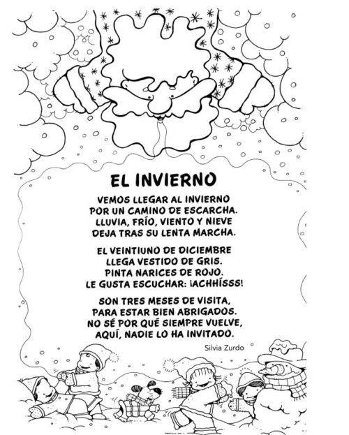 Imágenes Con Poemas Cortos Para Niños Poesias Infantiles Spanish Resources Dual Language Classroom Preschool