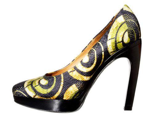 Shoes $680, Dries Van Noten at Blake; (312) 202-0047.
