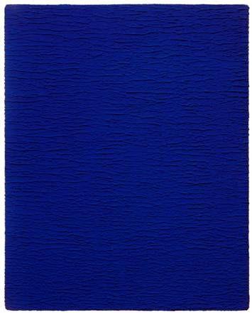 monochrome bleu sans titre 1959 yves klein 1928 1962 bleu klein ikb pinterest. Black Bedroom Furniture Sets. Home Design Ideas