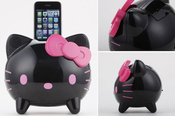 Hello kitty iPhone dock