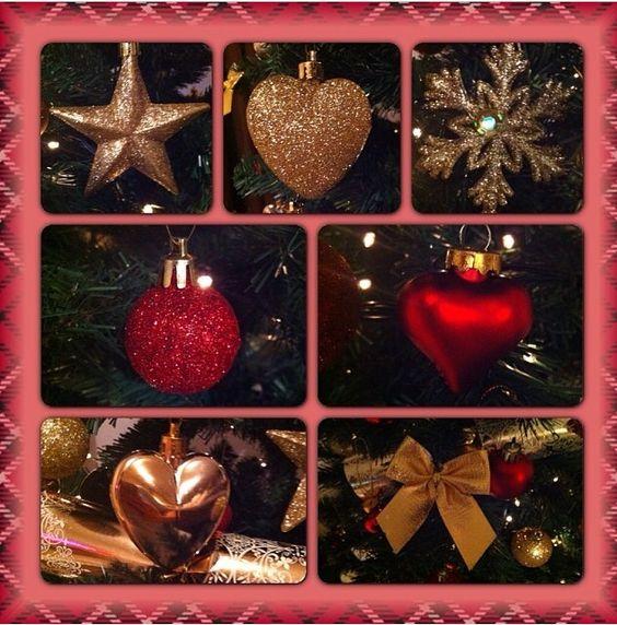 Christmas tree decs!