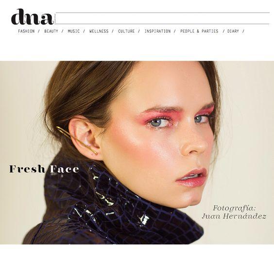 Katie Bannerman en DNA Magazine, por Juan Hernández!