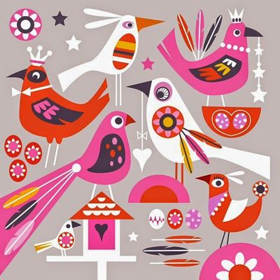 Illustrated by Shirley Copperwhite (via Print & Pattern).