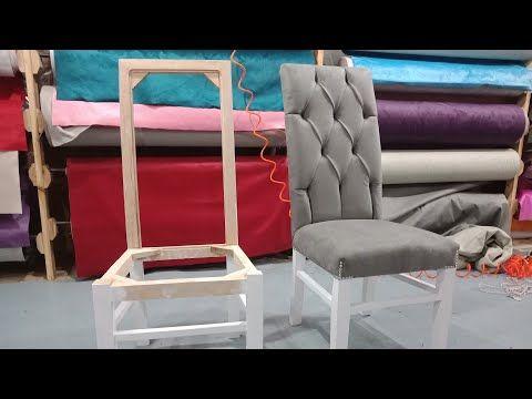 youtube como tapizar una silla de madera