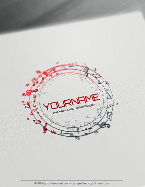 Free Music Logo Maker Online Dj Logo Design Templates Music Logo Design Dj Logo Spa Logo Design
