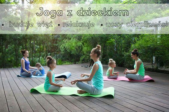 Jogę może ćwiczyć każdy. Jest ona bardzo uniwersalną dyscypliną. Jeśli masz dziecko – spróbuj asanów razem z nim. To naprawdę proste. #yoga #meditation #kids #joga #medytacja #dziecko