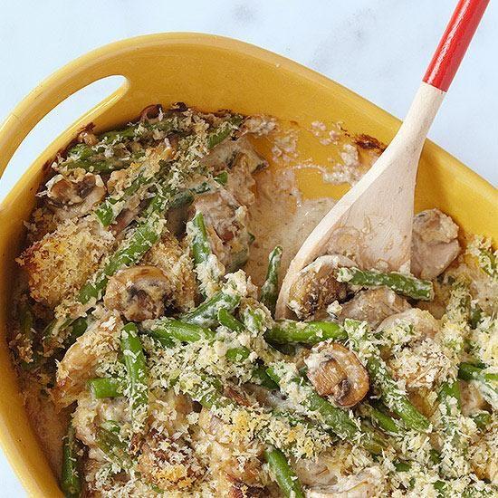 Chicken green beans, Green bean casserole and Green beans on Pinterest