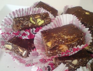 It All Tastes Greek To Me: Chocolate Bars with Dried Fruits, Nuts and Honey