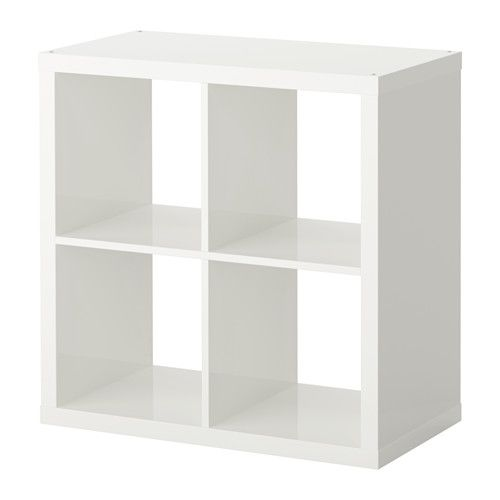 Kallax tag re brillant blanc meubles tables et placard - Separateur de bureau ikea ...