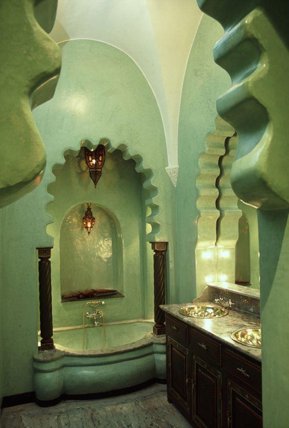 Bathroom at La Sultana in Marrakech