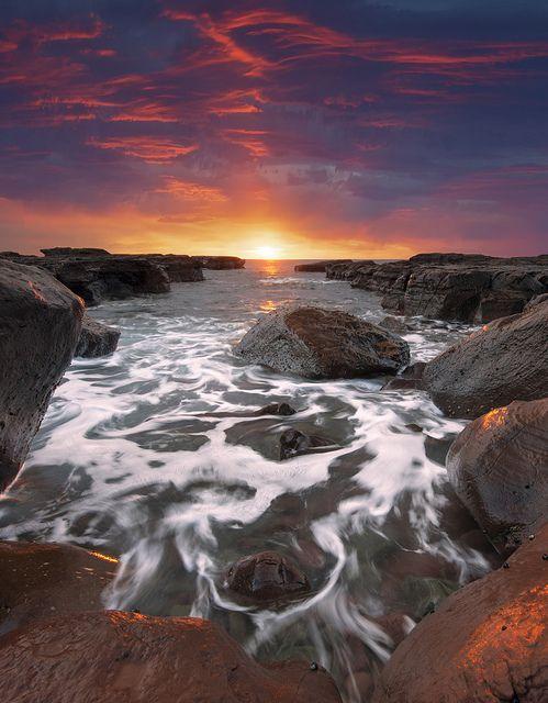 Vertical Dawn by AtomicZen : ), via Flickr
