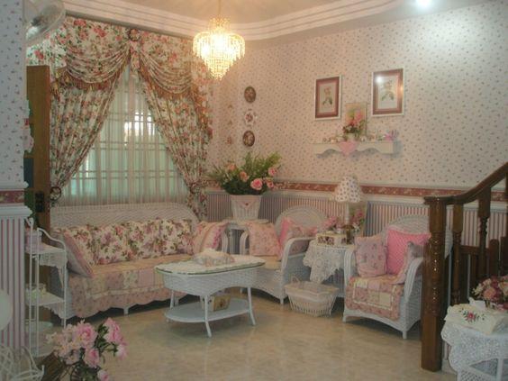 Langsir Rumah English Style