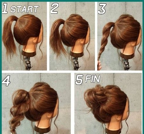 Fun Hairstyles For Short Hair To Do At Home Step By Step In 2020 Medium Hair Styles Classy Updo Hairstyles Long Hair Styles