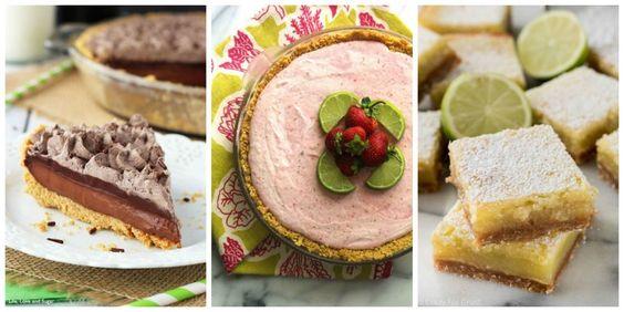 Boozy Summer Desserts - Easy Dessert Recipes