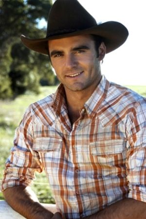 Dustin Clare - hottest cowboy in the history of mankind.  If only dreams came true