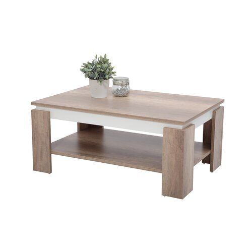 Lovelace Coffee Table With Storage 17 Stories Coffee Table With