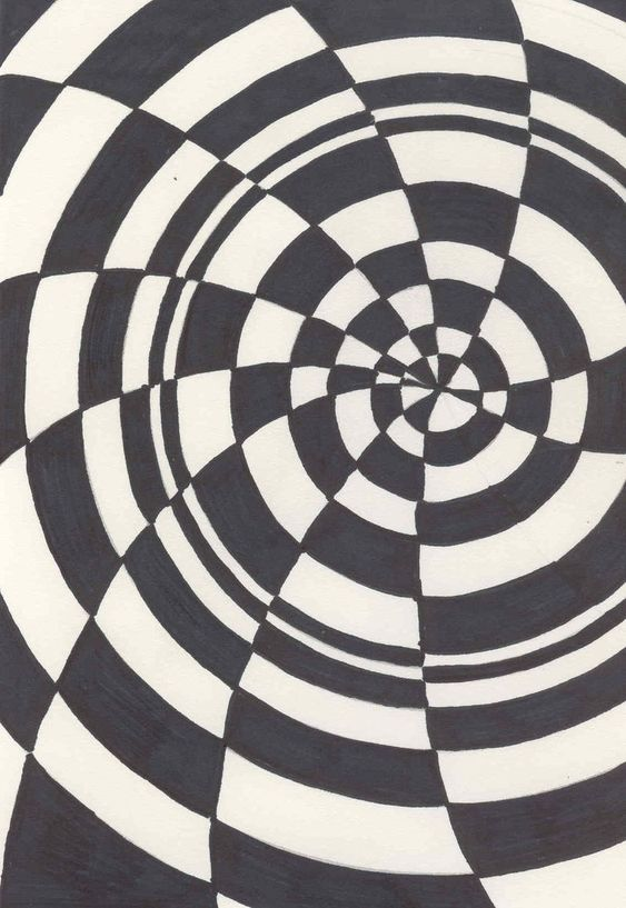 Op Art Designs : Optical art lesson illusion
