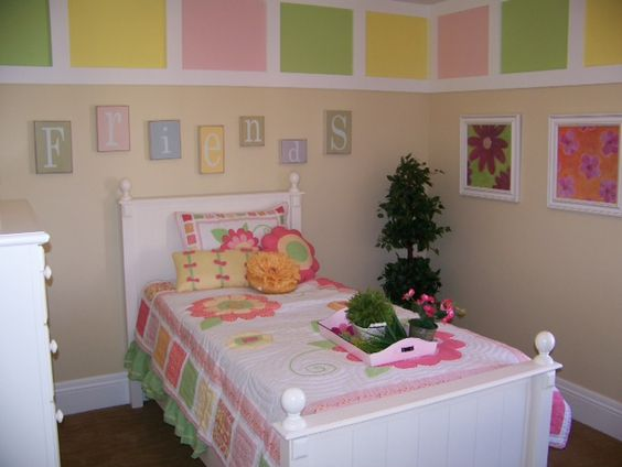 This cute room is designed by Heather Osmond, the owner of Osmond Designs. If I had been blessed with a daughter, this room would have just been delightful for her.