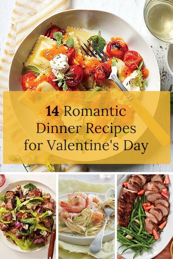 valentine's day dinner recipes for two