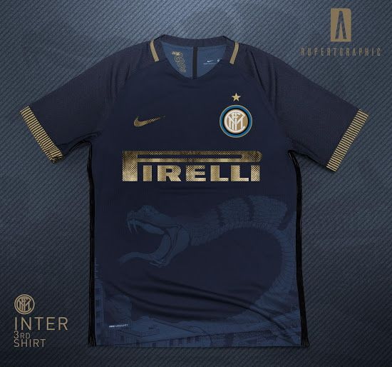 Awesome Nike Inter Milan 18-19 Third Kit Concept by Rupertgraphic ...
