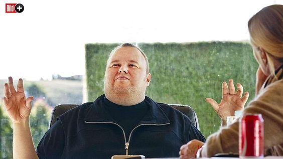 BILD-BESUCH BEI KIM DOTCOM IN NEUSEELAND Früher war ich dick und doof ...heute bin ich nur noch dick!