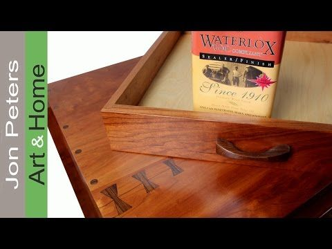 Watch Jon from Jon Peters Art & Home finish a coffee table with Waterlox Original Resin-Modified Sealer/Finish.