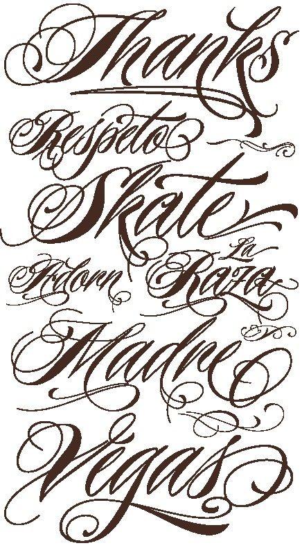 Convertidor De Letras Para Tatuajes