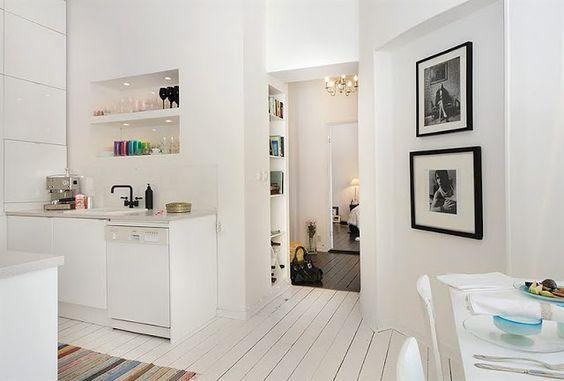 Black Velvet Chair Painted white floorboards + colour \u003d me happy