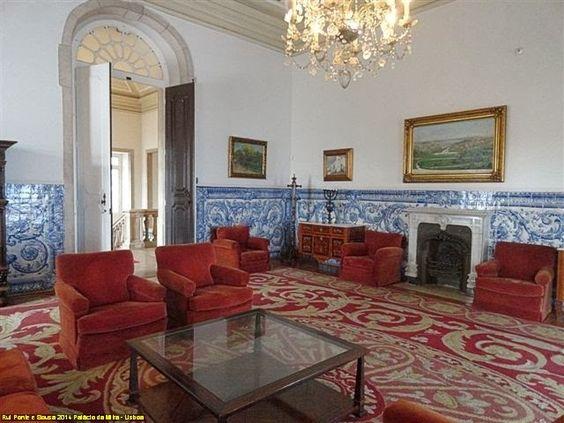 pedaços da vida: Visita ao Palácio da Mitra - Santo Antão do Tojal