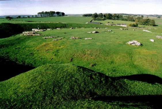 Arbor Low is a Neolithic henge monument in the Peak District, Derbyshire, England.