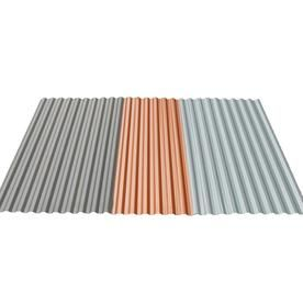 Tuftex Polydecor 2 17 Ft X 3 5 Ft Corrugated Polycarbonate Plastic Roof Panel Lowes Com Roof Panels Corrugated Plastic Panels Plastic Flooring