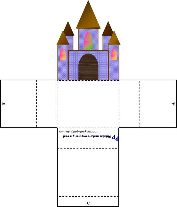 cut out castle template - pinterest the world s catalog of ideas