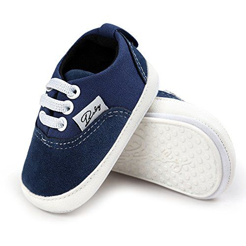 Baby Girls Boys Canvas Shoes Soft Sole