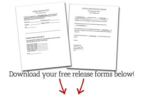 Free Model Release Form For Photographers This Will Hopefully