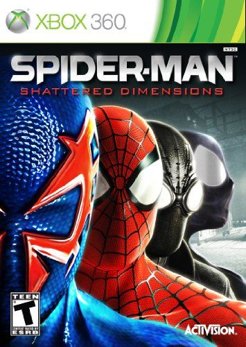 nice Spiderman Games | Spider-Man: Shattered Dimensions - Xbox 360