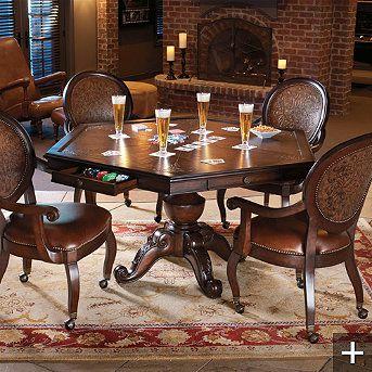 game room furniture game tables and game rooms on pinterest. Black Bedroom Furniture Sets. Home Design Ideas