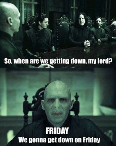 Voldy gets down...