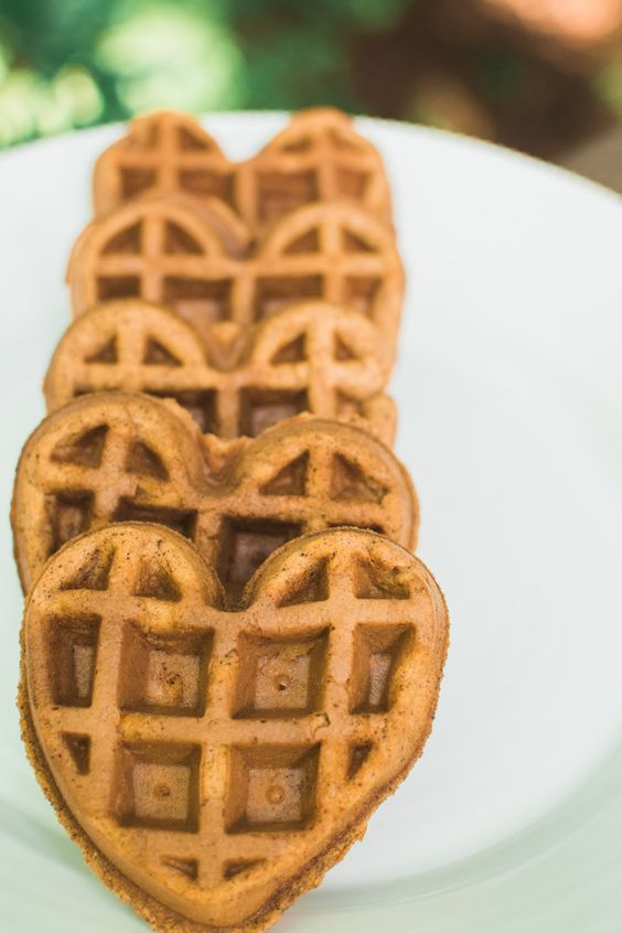 Paleo Pumpkin Waffles...yes!   #whole30 #paleopumpkinwaffles #paleowaffles #pumpkinwaffleshealthy