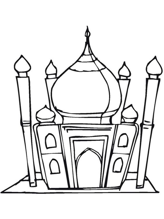 muslim holidays coloring pages - photo#18