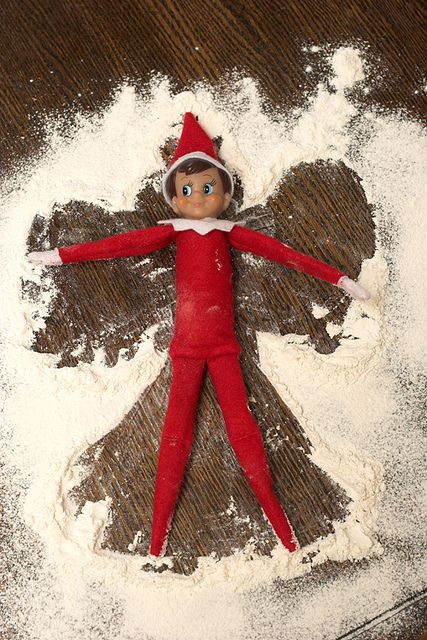 I just ordered an Elf on the Shelf for Baby Girl yesterday!  I am so excited about starting this holiday tradition with MKG although I guess this year she might be a little young...;)