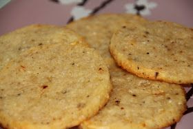 The shady pine: Parmesan, pepper and chilli savoury biscuits