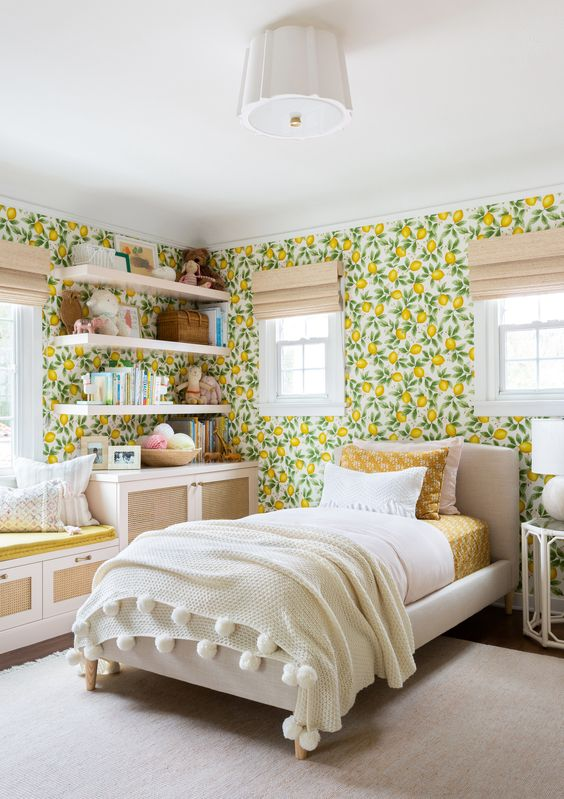 This Bright and Beautiful Bedroom Steers Clear of Kids' Rooms Cliches