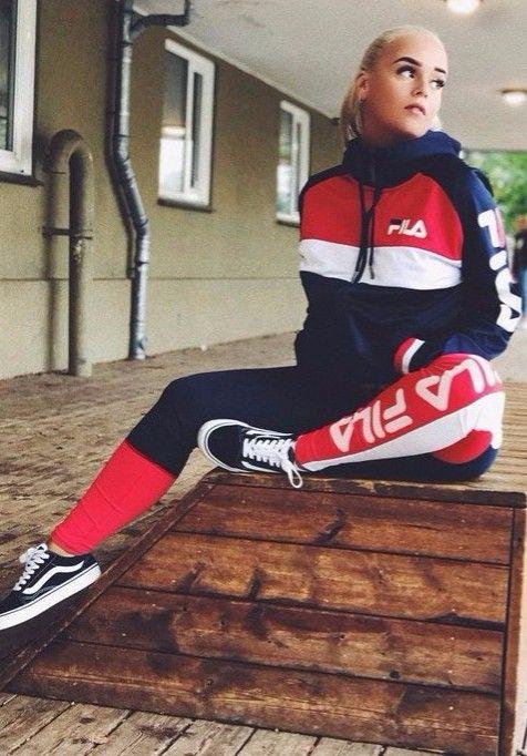 Comfy styleFila @KortenStEiN | Fila outfit, Sporty outfits