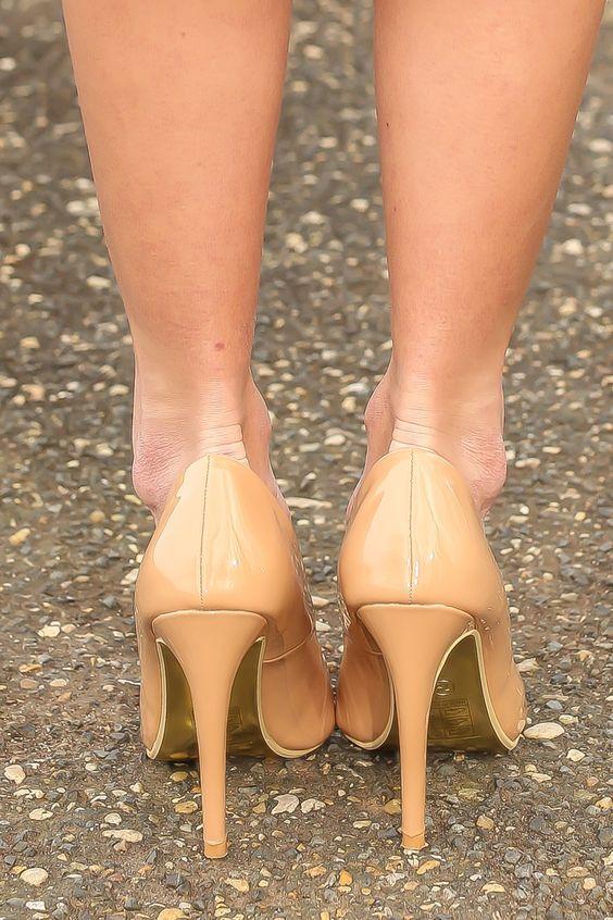 New Illusion Heels-Dark Beige - $42.00