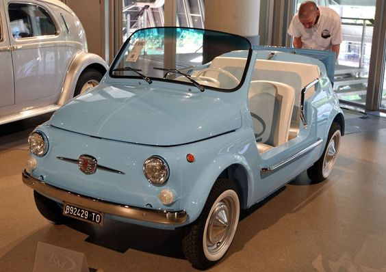 "cute- 1969 Fiat 500 Mare, @Alison Hobbs Hobbs Sparrow (tell Emma she could get this instead of the ""classic/vintage Camry"")"