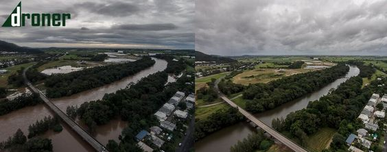 Barron River after Cyclone Ita and 2 days before #TCIta #CycloneIta #Cairns #FNQ #Ita pic.twitter.com/rsBxa6IPuW
