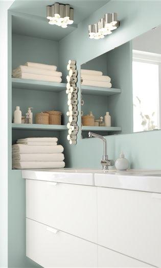 Iluminación, cuarto de baño and perlas on pinterest