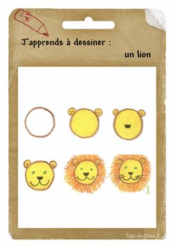 Comment dessiner lion and dessiner on pinterest - Comment dessiner un lion ...