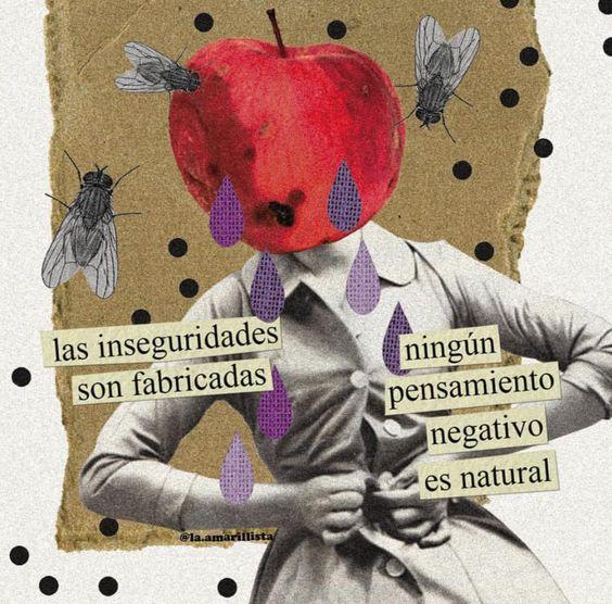 🖍 @la.amarillista #inseguridades
